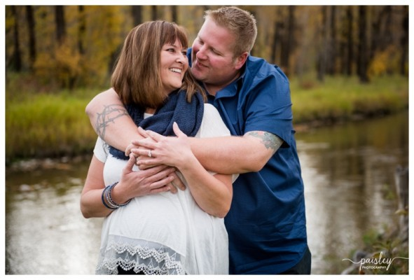 Calgary Couple Photography ~ J+M's Fishcreek Couple Session