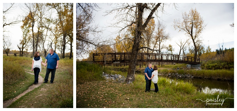 Fish creek Park Engagement Photos Calgary
