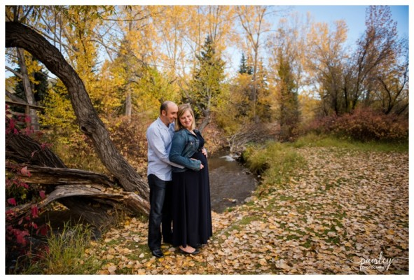 Cochrane Maternity Photographer ~ Expecting Parents Joe & Lindsay