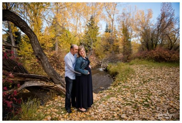 Cochrane Maternity Photographer ~ Expecting Parents Joe & Lindsay