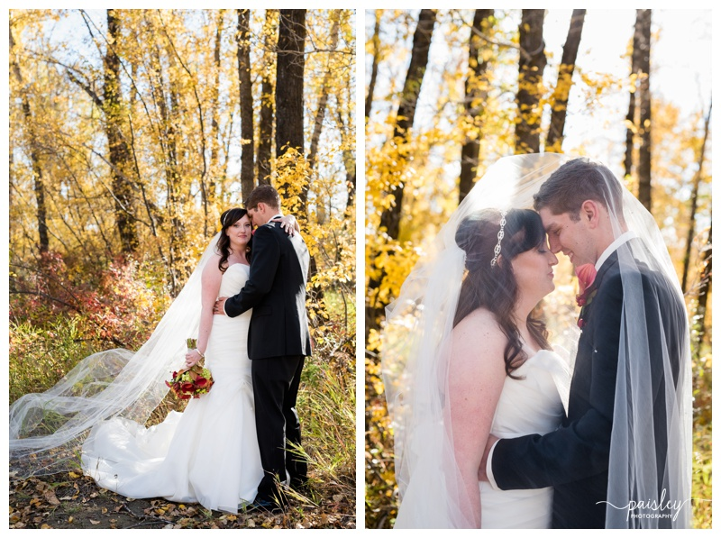Calgary Autumn Wedding Photography
