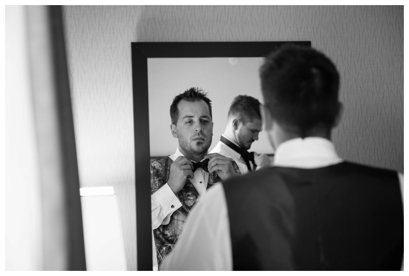 Groom Wedding Prep Photography Calgary