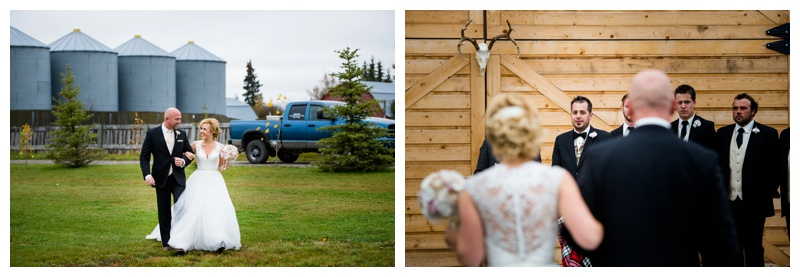 Olds Alberta Wedding Willow Lane Barn