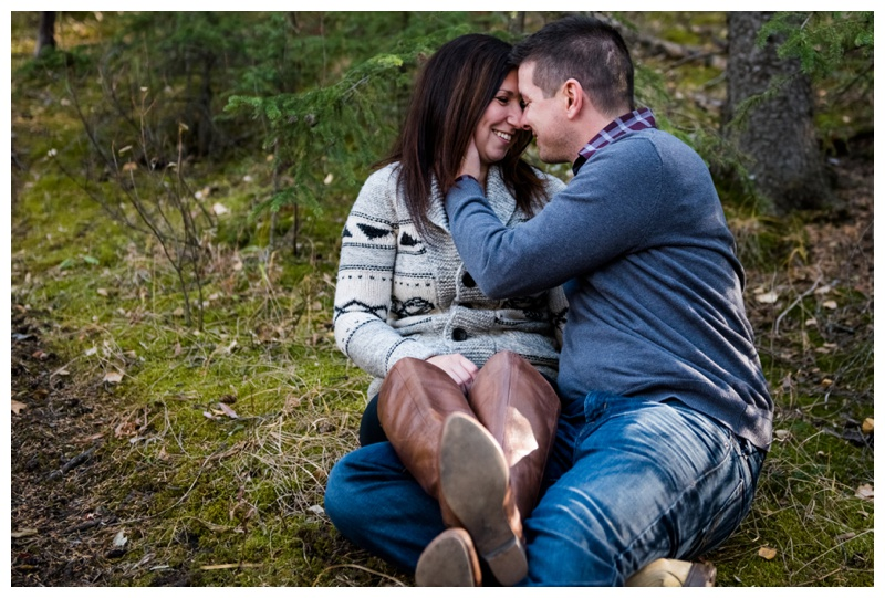 Cochrane Ranche house Engagement Photography