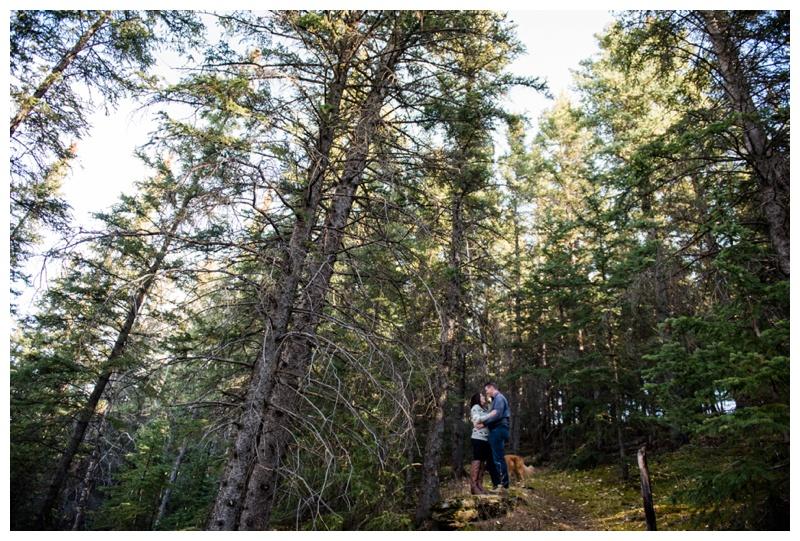 Cochrane Ranche Engagement Photographer