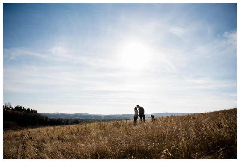 Southern Alberta Engagement Photography