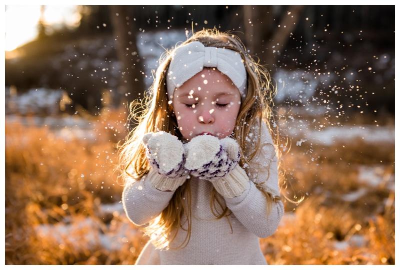 Snow Fun Family Photography Calgary
