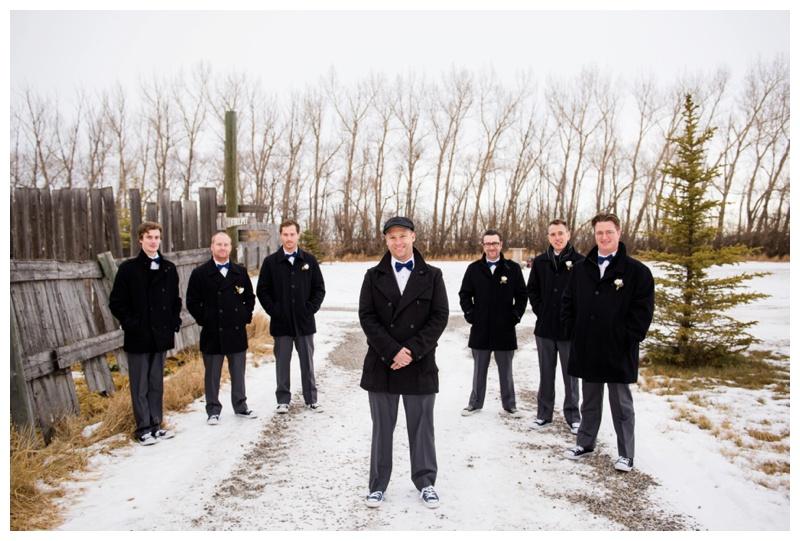 Winter Wedding Olds Alberta