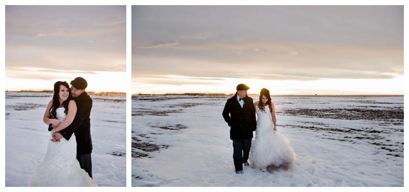Winter Wedding Calgary Alberta