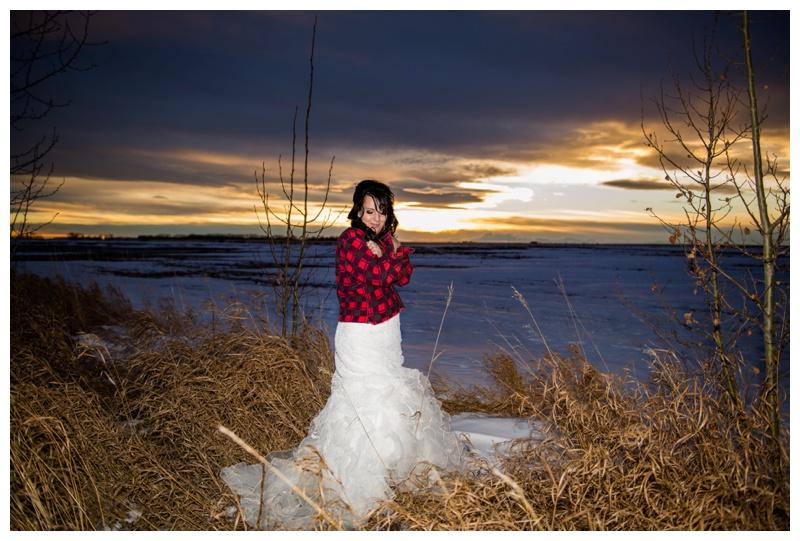Sunset Wedding Photography Calgary