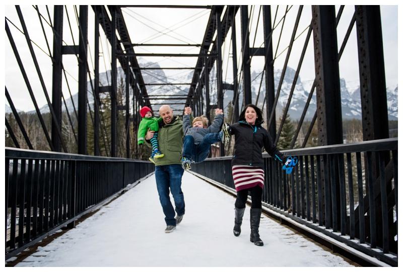 Iron Bridge Family Photography Canmore