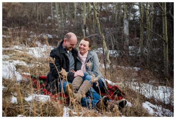 Glenbow Ranch Engagement Photography ~ Lealand & Patti's Cochrane Engagement