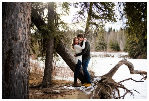 Fishcreek Park Engagement Session – Theron & Rachelle's Calgary Engagement