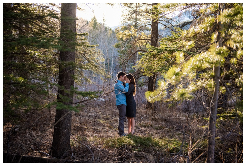 Canmore Engagement Photography