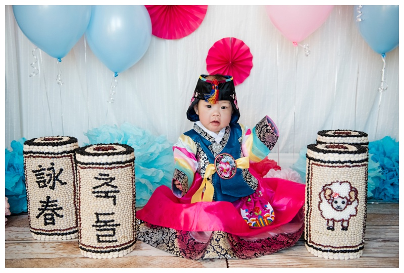 Korean First Birthday Photography