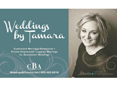 Weddings by Tamara - Calgary Wedding Officiant