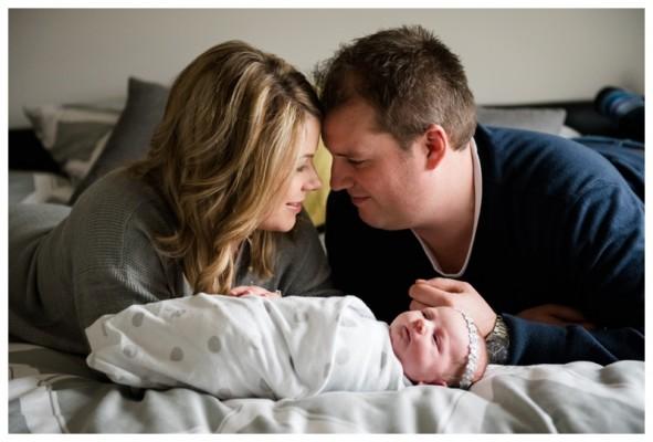 Lifestyle Newborn Photographer Calgary – Baby Harper