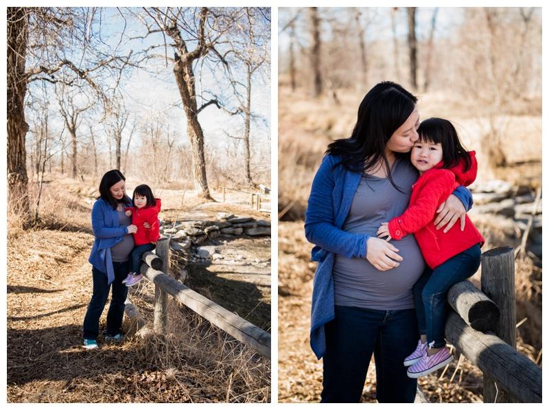 Family Maternity Photography Calgary
