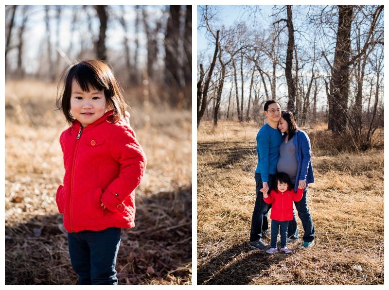 Family Maternity Photos Calgary