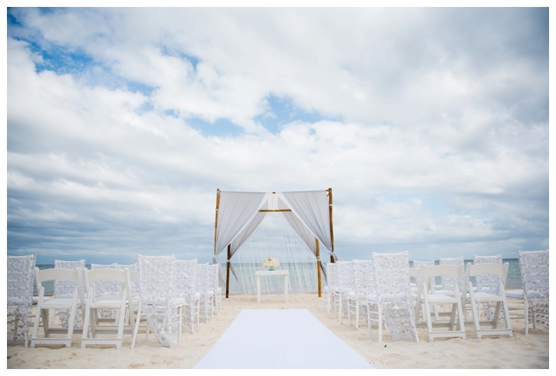 Cancun Beach Wedding Photographer
