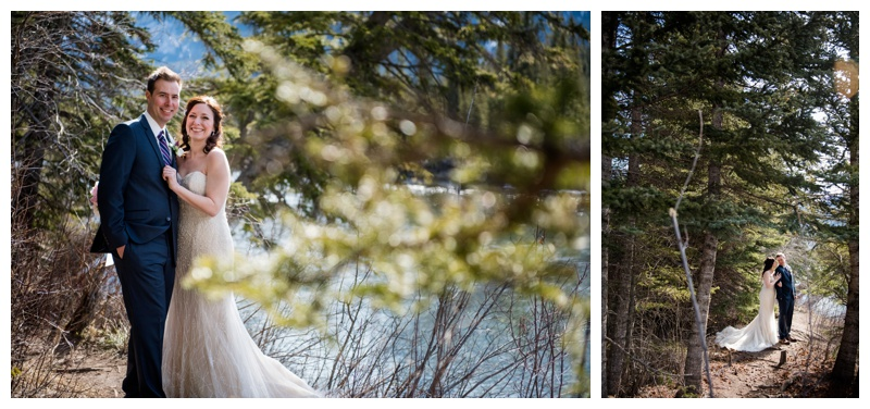 Iron Bridge Wedding Photography Canmore