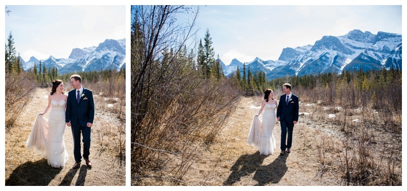 Spring Mountain Wedding Canmore