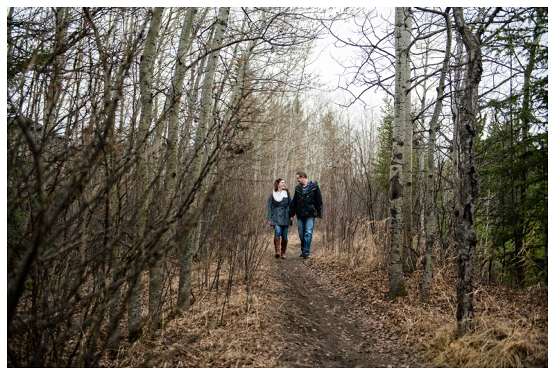 Spring Engagement Session Calgary