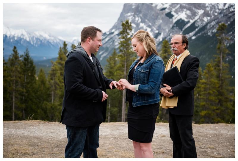 Banff Mountain Elopement
