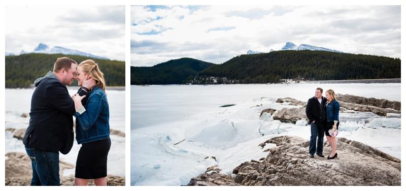 Engagement Photography Lake Minnewanka