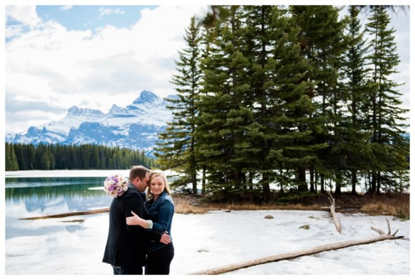 Cameron & Jessica's Banff Elopement – Banff Elopement Photographer