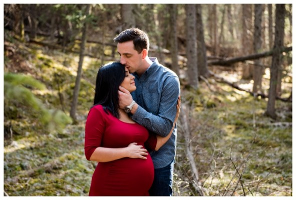 Kananaskis Maternity Photographer – Josh & Marcia's Maternity Session