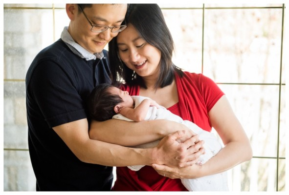 Calgary Lifestyle Newborn Photographer ~ Baby Charlotte