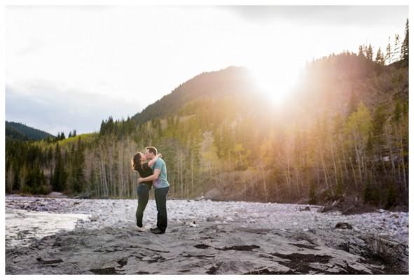 Elbow Falls Engagement Photography – Anthony & Alison's Kananaskis Engagement