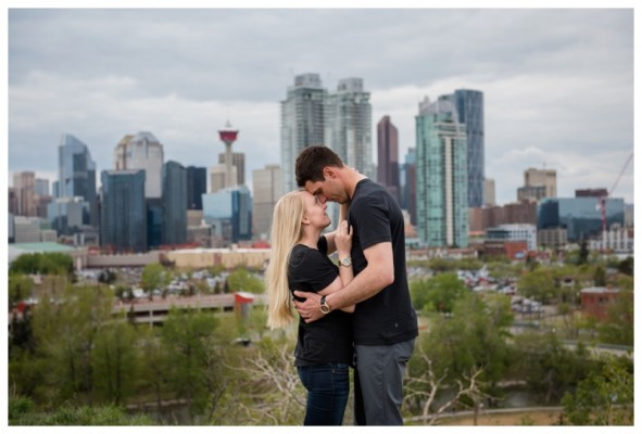 Prince's Island Park Engagement Session – David & Carley's Calgary Engagement