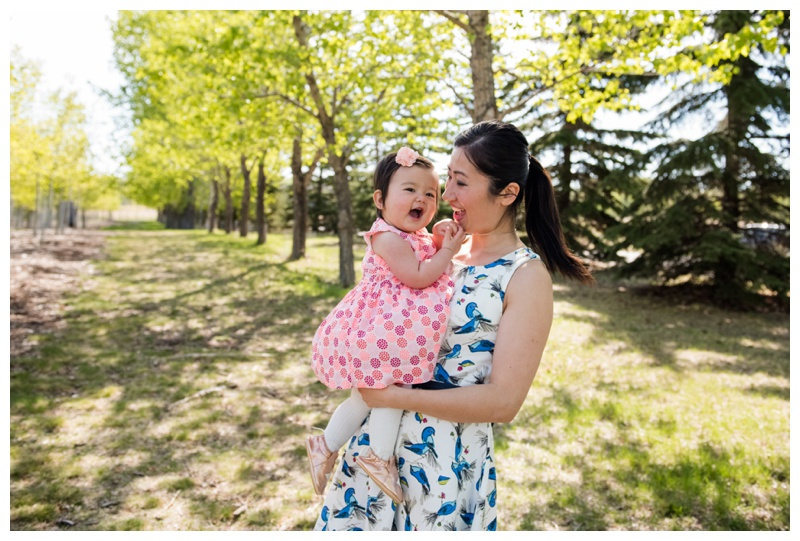 Mom & Daughter Family Photos Calgary