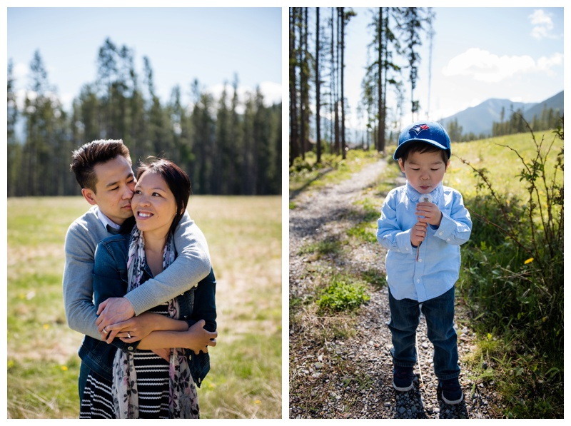 Canmore Spring Family Photos