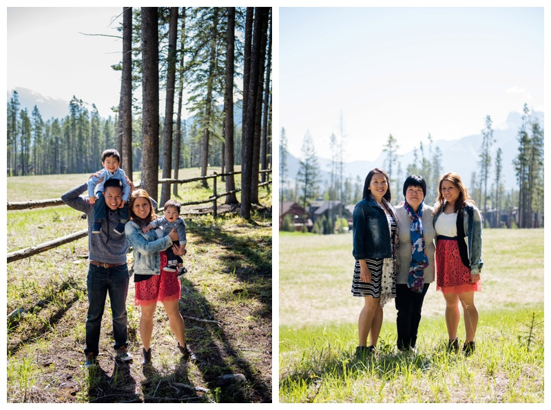 Three Sisters Mountain Family Photography