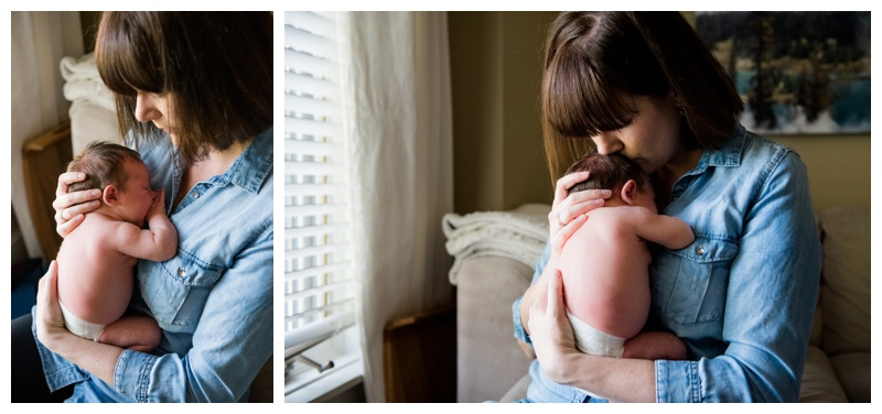 Mom & Daughter Newborn Photography