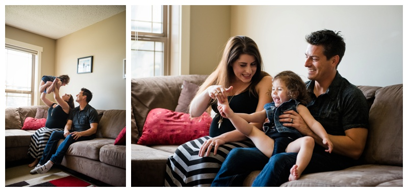 At Home Maternity Photography Calgary