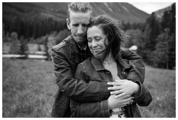 Quarry Lake Engagement Photography ~ Brian & Terra's Canmore Engagement