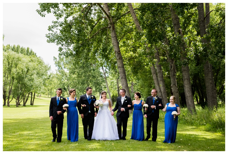 Confederation Park Calgary Wedding