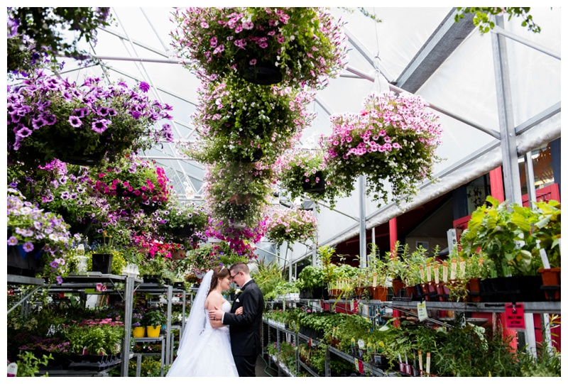 Calgary Greenhouse Wedding