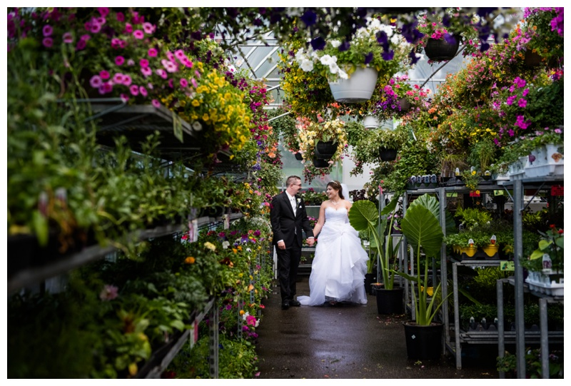 Plantation Green House Wedding Calgary