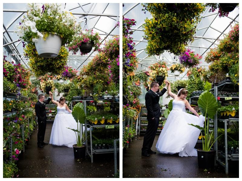 Calgary Green House Wedding Photos