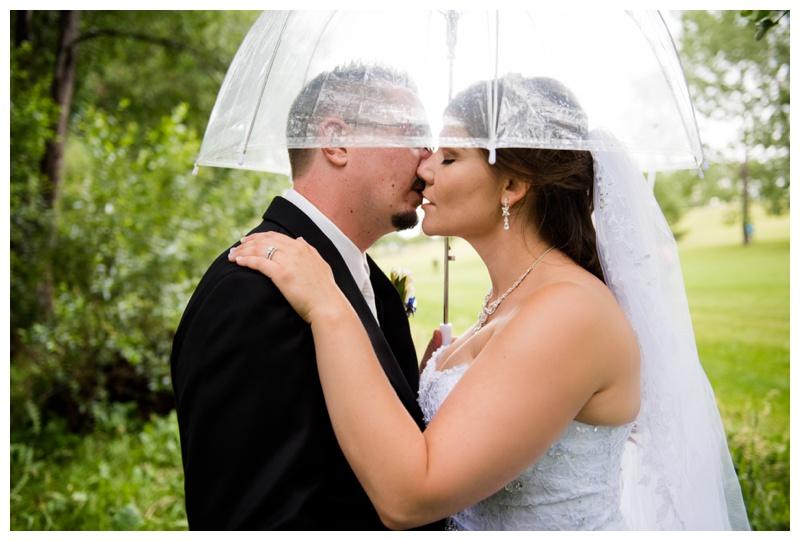 Umbrella Wedding Photography Calgary