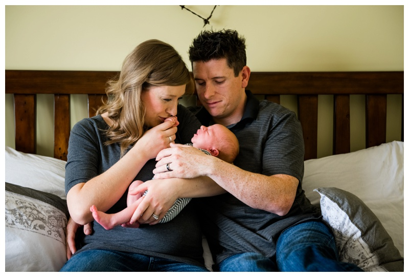 Cochrane Lifestyle Newborn Photography