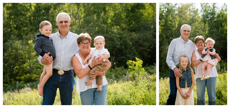Grandparent Family Photography