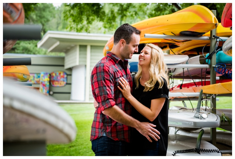Lakeside Engagement Session invermere