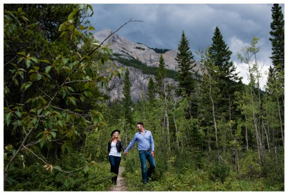 Barrier Lake Engagement Photography ~ Dylan & Brandi's Kananaskis Engagement