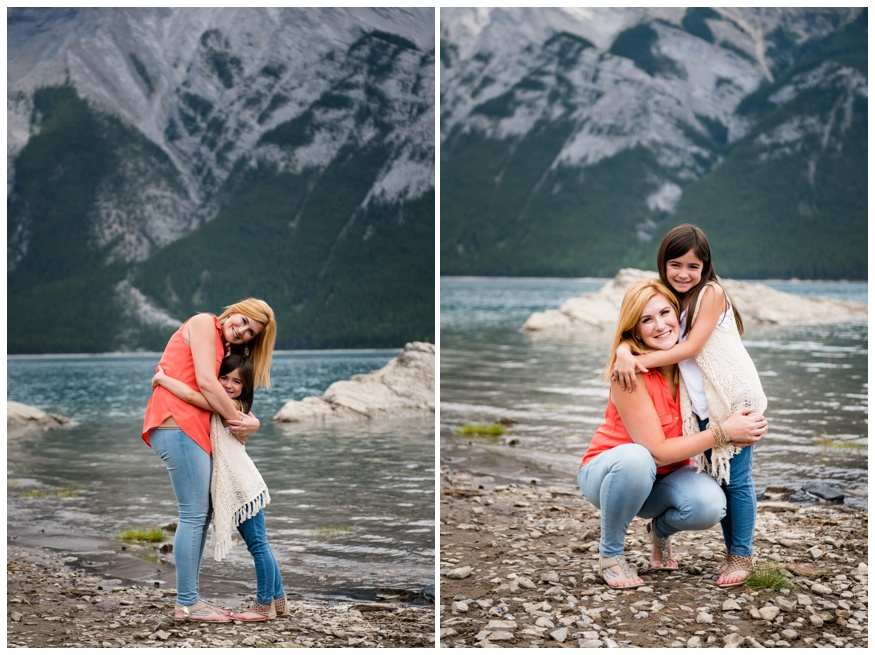 Mother Daughter Family Photography Banff